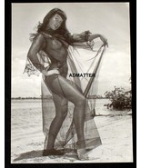 """BETTIE PAGE 9""""X12"""" PINUP POSTER ART TOPLESS PRINT IN SEXY BLACK NEGLIGEE... - $8.79"""