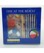 DAY AT THE BEACH American Zen Life In Miniature Children Meditation - $10.00