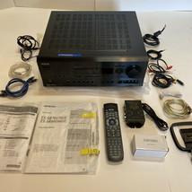 *Mint* Onkyo TX-SR601 A/V Receiver Amplifier Bundle W/ Remote, Audyssey Mic +++ - $247.50