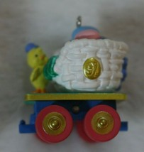 Hallmark Keepsake 1997 Colorful Coal Car Cottontail Express Easter Ornam... - $19.79