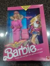 1989 Flight Time Barbie Gift Set MATTEL Vintage NOS # 9584 - $28.95