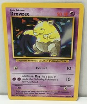 Drowzee 49/102 Pokemon Card Common Original Base Set NM Great Condition - $2.16