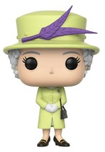 Funko Pop! Royals: Royals - Queen Elizabeth II Action Figures, Multicolo... - $8.99
