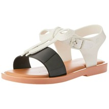 NWT MINI MELISSA Mar Sandal Bow Slipper Comfort Shoes Rubber Cute Black ... - $57.42+