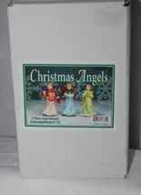 Dicksons Gloria Christmas Angel Pink Dress 6 Inches Hand Painted image 5