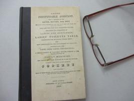 Women's Health Alternative Medicine Recipe Cure Treatment Antique Leeche... - $24.83