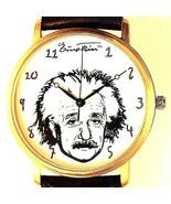 Albert Einstein E = MC2 Fossil Unworn LTD Unisex Watch WR Battery Quartz... - $97.86