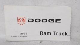2008 Dodge Ram 1500 Owners Manual 52828 - $30.91