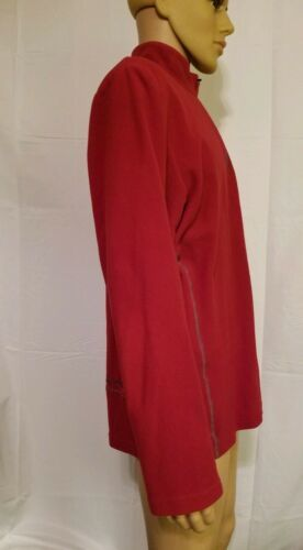 Under Armour Red Fleece Jacket Half Zip Long Sleeve Mens Size XL Extra Large UA  image 5