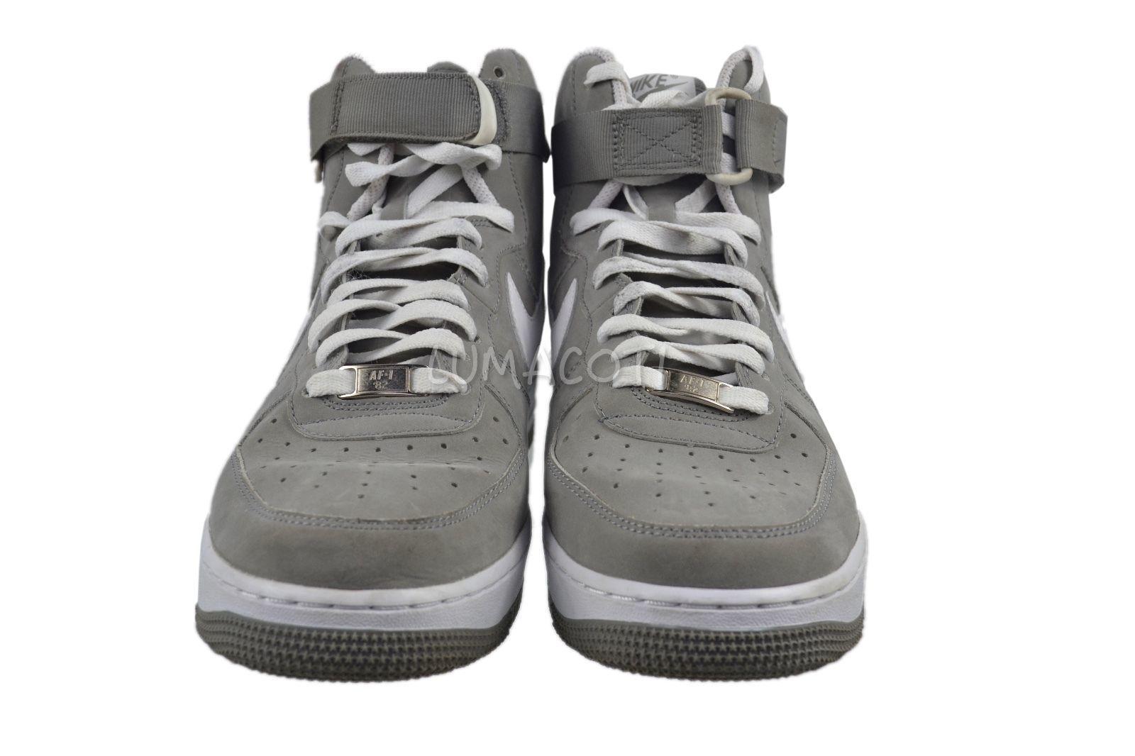 90f05e11a26 ... Nike Air Force 1 High  07 Charcoal White Mens Size 8.5  315121 ...