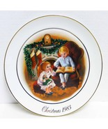 """CHRISTMAS MEMORIES - 9"""" Vintage 1983 Holiday Plate by Avon - $14.99"""