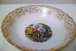 Nasco Royal Colonial  22 Kt. Gold Vegetable Serving Bowl - $8.00