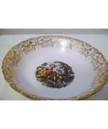 Nasco Royal Colonial  22 Kt. Gold Vegetable Serving Bowl - $8.00