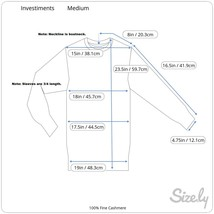Investments 100% Fine Cashmere Ladies Sweater, Boatneck, 3/4 Length Sleeves, Med image 2