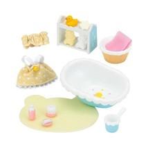 Epoch Sylvanian Families Möbel Baby Bade Set Süße Puppe Zubehör Gratis Versand - $21.24