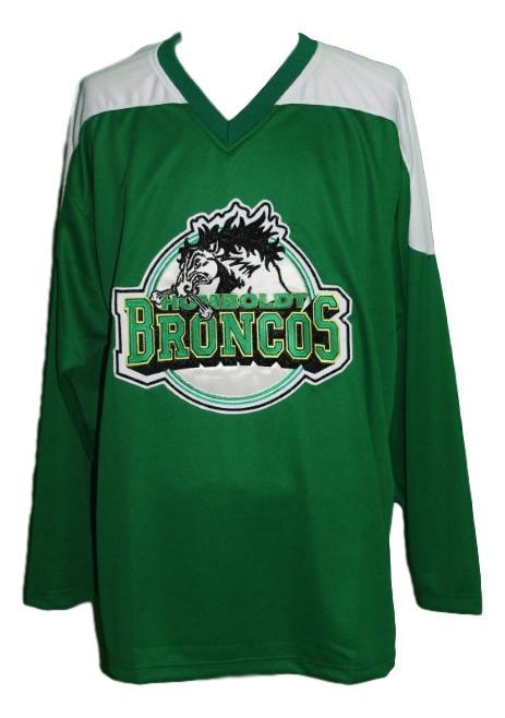 Humboldt broncos junior hockey jersey green   1
