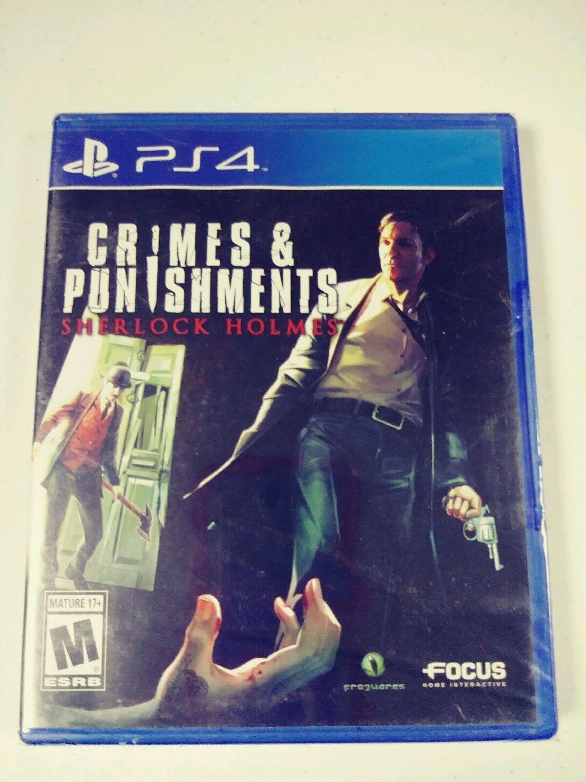 Sony Play Station 4 PS4 Sherlock Holmes Crimes & Punishments NEW SEALED