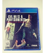 Sony Play Station 4 PS4 Sherlock Holmes Crimes & Punishments NEW SEALED - $39.11