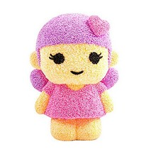Beads mud Clay Dolls for Kids or Baby DIY Colorful Toy(Pink Girl) image 2