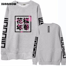 XUANSHOW 2018 Spring Autumn Women Bangtan Boys Album Fans Clothing Gray ... - $16.90