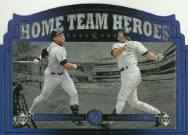 1997 Upper Deck Home Team Heroes #HT8 Andres Galarraga/Dante Bichette - $0.75