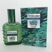Herbissimo Mountain Juniper by Dana 3 oz 90 ml After Shave Splash Rare, Vintage - $38.34