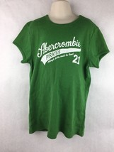 Abercrombie & Fitch Girls Green Short Sleeve Shirt Size XL - $11.87