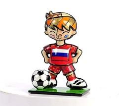 Romero Britto Mini World Cup Soccer Player Mini Figurine Russia