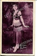 Princess Pauline-Wild-1920-Exhibit/Arcade Card G - $21.73