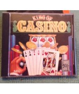 Turbo Grafx 16 Hu-Card King of Casino. 1990. Very Good. - $9.90