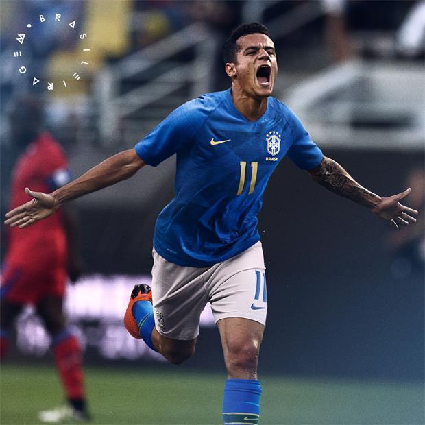 464c14cc7 NIKE MARCELO BRAZIL VAPORKNIT VAPOR MATCH AWAY JERSEY FIFA WORLD CUP 2018.