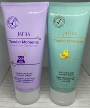 Jafra tender moments Comforting and Softening Baby Massage Cream Lavende... - $19.80