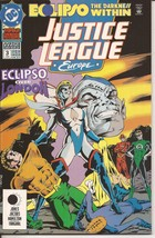 DC Justice League Europe Annual #3 1992 Eclipso The Darkness Within  - $2.95