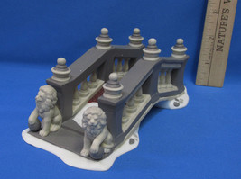 Department 56 Heritage Accessory Village Lionhead Bridge Porcelain Dept - $9.89