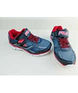 Boys Fila Focal Speed Playground Casual Running Sneakers Shoes Sz 11 Youth - $23.75