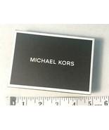 Authentic Michael Kors Jet Set Card Case, Black - $47.98