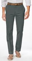 NEW MENS ALFANI RED SLIM FIT STRETCH FLAT FRONT GREY CASUAL PANTS 40 x 3... - $19.79