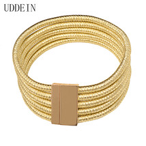 Maxi Chokers Magnet Button Multilayer Choker Necklace & Pendant Kim Kard... - $13.58