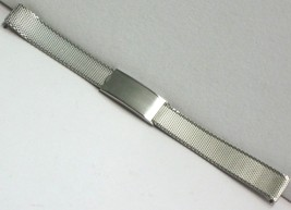 Kestenmade Vintage NOS Stainless Steel Ladies Two Piece Watch Bracelet 12mm - $23.75