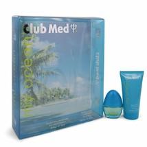 Club Med My Ocean Gift Set - .33 Oz Mini Edt Spray + 1.85 Oz Body Lotion -- F... - $17.57