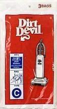 Dirt Devil Royal Vacuum Bag Type C Fits Royal Carded - $6.84