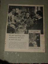 "Guinness  1955  Vintage   14"" X 12""  (Approx)  Original   UK   Advert   - $4.32"