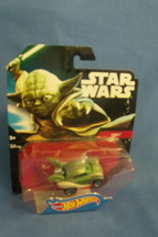 Toys Mattel NIB Hot Wheels Disney Star Wars Yoda Die Cast Car - $10.95