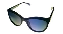 Kenneth Cole Reaction Mens Soft Square Shiny Black Sunglass KC1310  1B - $17.99