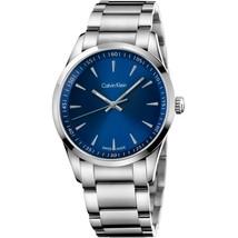 Calvin Klein K5A3114N Bold Silver Steel Bracelet Men's Watch