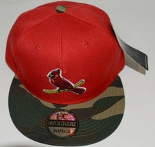 Evergreen Headwear Headcoverz St Louis Cardinals Camo Baseball Cap Snapback image 2