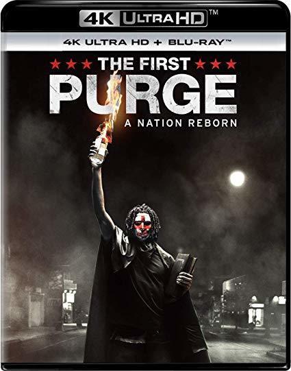 The First Purge (4K Ultra HD + Blu-Ray)