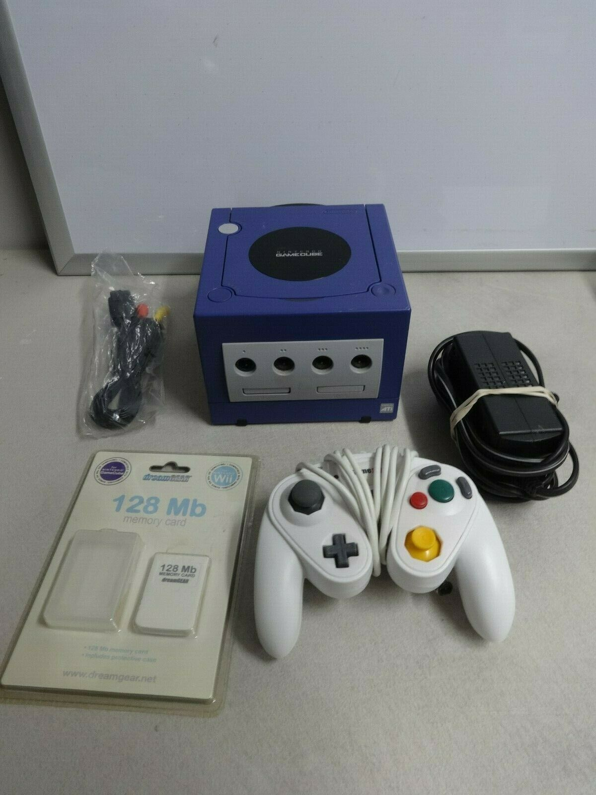 TESTED Nintendo GameCube Video Game Console System + Controller & NIP Memory #26 - $174.05