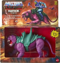 NEW SEALED 2021 Masters of the Universe Origins Panthor Cat Action Figure - $49.49
