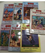 Lot Of 7 THE BOXCAR CHILDREN SERIES BOOKS By Gertrude Chandler Warner Mi... - $13.85